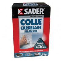 Colle carrelage - blanc - 1.5 kg