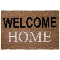 Paillasson en coco welcome home - naturel - 40 x 60 cm