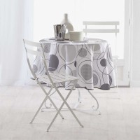 Nappe ronde design - multicolore - (0) 180 cm
