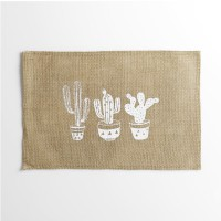 Set de table en 100% jute mexico - naturel - 30 x 45 cm