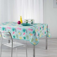 Nappe rectangulaire esprit summer - multicolore - 150 x 240 cm