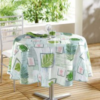 Nappe ronde tendance and co - multicolore - (0) 160 cm