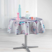 Nappe ronde attrape-rêves - multicolore - (0) 180 cm
