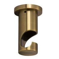 Support plafond long Ø20 mm - bronze vieilli - diam 20 mm