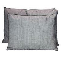 Coussin outdoor antibes - anthracite - 45 x 45cm