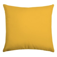 Coussin outdoor uni hawaï - moutarde - 80 x 80 cm