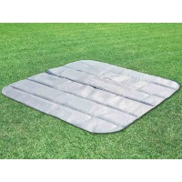 Tapis de sol pour spa gonflable intex octogonal 4 places