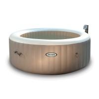 Spa gonflable purespa rond bulles 4 places - intex