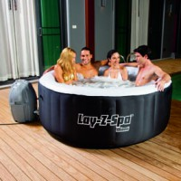 Spa rond miami lay-z-spa 2/4 places - bestway