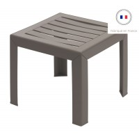 Table basse miami taupe - grosfillex