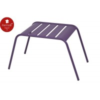 Table basse - repose pieds monceau aubergine - fermob