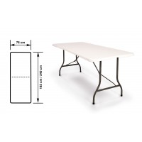 Table pliante 240cm - pratik garden