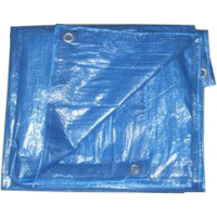 Bâche de protection 8x12m eco bleu royal - sodepm