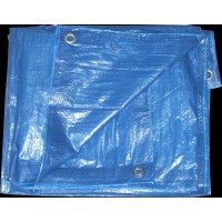 Bâche de protection eco 3x4m bleu royal - sodepm
