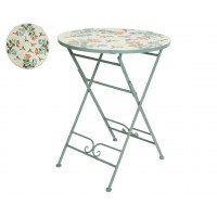 Table panama ronde diam. 76 cm mosaique - garden furniture
