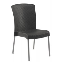 Chaise ineo 2 anthracite - grosfillex