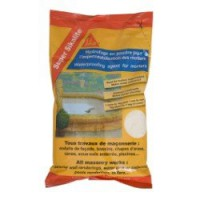 Hydrofuge pour mortier sika super sikalite 1 l blanc