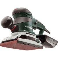 Ponceuse vibrante filaire metabo sre 4350 turbotec, 350 w