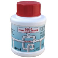 Tube de colle pour tube pvc 125 ml aquaflow