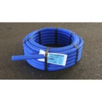 Tube d'alimentation gainé per bleu, diam.10 x 12 mm, en couronne de 15 m per
