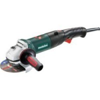 Meuleuse d'angle filaire metabo, wev 1500-125 rt, 1500 w