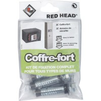 Kit chevilles à expansion coffre fort red head, diam.14 x l.55 mm