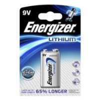 Pile lithium, aaaa (9 v), energizer