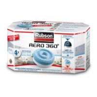 4 recharges absorbeur rubson aero360