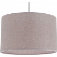 Suspension, e27 scandinave copenhague tissus rose pale 1 x 60 w metropolight tissus