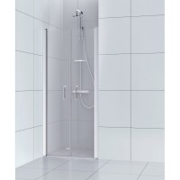 Porte de douche battante 70 cm, transparent, remix sensea