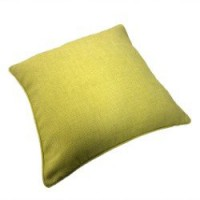 Coussin bee, anis l.45 x h.45 cm 100% polyester