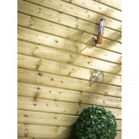 Clin pour bardage sapin vert isb 2.95 m