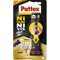 Glue colle click & fix pattex, 20 doses