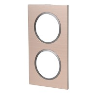 Plaque double epure, lexman bronze
