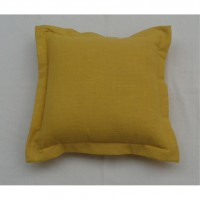 Coussin joey, moutarde l.45 x h.45 cm