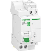 Télérupteur + disjoncteur embrochable phase + neutreschneider electric 16 a