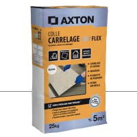 Mortier colle colle axton, 25 kg blanc