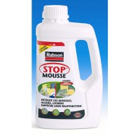 Traitement antimousse stop mousse, rubson incolore 1 l
