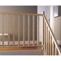 Kit balustrade bois sapin brut