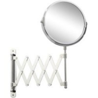Miroir grossissant x 2 rond à fixer, h.15 x l.15 x p.1.8 cm, beauty extensible sensea