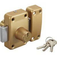 Verrou double cylindre, 40 mm, standers city 5g