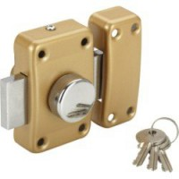 Verrou bouton / cylindre, 30 mm, standers city 5g