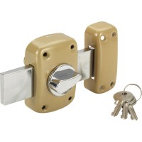 Verrou bouton / cylindre, 30 mm, standers diam. 21, 5 goupilles
