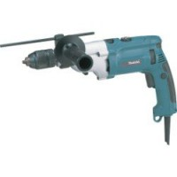 Perceuse à percussion filaire makita hp2071fj, 1010 w