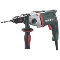 Perceuse à percussion filaire metabo sbev 1000-2, 1000 w