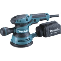 Ponceuse excentrique filaire makita bo5041kx1, 300 w