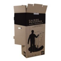 Carton penderie 20 cintres l.50 x h.100 x p.30 cm pack and move