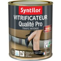 Vitrificateur parquet ultra résistant syntilor, naturelle, 0.75 l