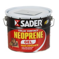 Colle néoprène gel multi - usages sader, 2,5l