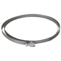Collier de fixation plat variable acier equation, diam.150/150 mm cv175 acier